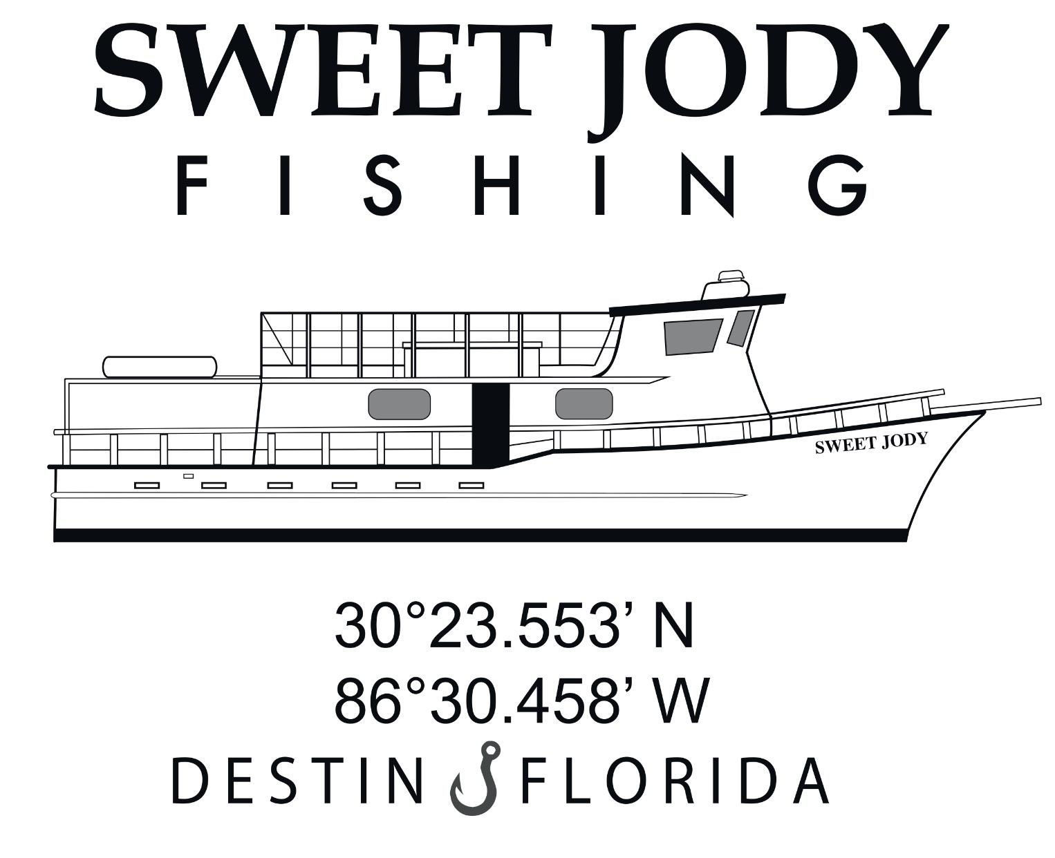 210 harbor blvd destin fl for Sweet jody fishing